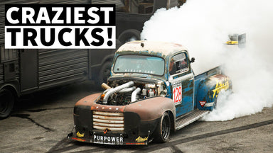 Truck Hucks, Slides, Crashes and Sitters at Hoonigan