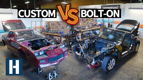 Build & Battle 3: Setting up Suspension for Gymkhana GRID! Camaro vs 350z Faceoff EP.2