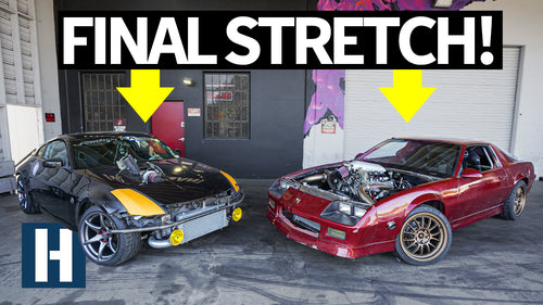 Build & Battle 3: Crunch Time! Wrapping Up the Honda K24 Swapped 350z and 3rd Gen Camaro builds EP.7