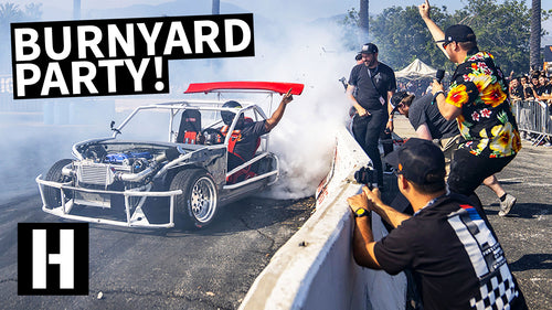 Our Wildest BurnYard Bash Yet! Popping Tires, Brad Almost Wrecks, We Like to Party