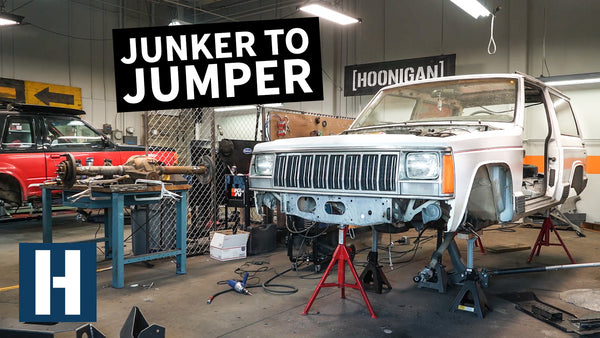 Building a Jeep XJ and Ford Explorer to SEND IT