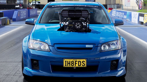 1000hp Big Blower Street Car?? Holden VE Commodore Burnout Car Sings the Song of its People