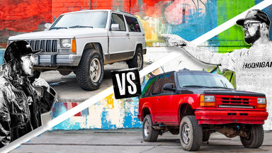 Which Truck Will Be the Best Offroad Racer? Explorer vs Jeep XJ