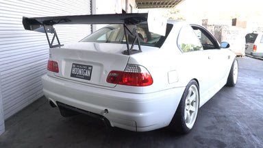 Vin Steps Up His Aero Game : E46 Super Lap Battle Prep