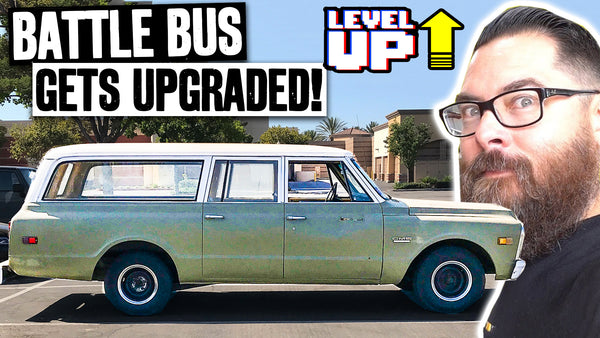 "Chase's 1971 Suburban ""Battle Bus"" Gets Ready for Daily Duty"