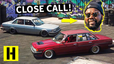 We Almost Lost Hert!? Tandem Cressida Drift Battle Gets Rowdy