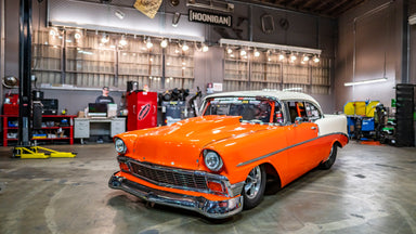 6 Second, 210mph Steel Bodied Beast: '56 Drag Chevy aka The Creamsicle