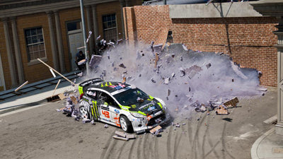KEN BLOCK'S GYMKHANA FOUR; THE HOLLYWOOD MEGAMERCIAL
