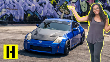 She shreds! Bri Lynch's 1JZ Swapped Nissan 350z!