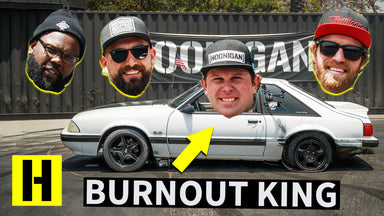 Ford Mustang Gets Rowdy, and Doesn't Crash? THE Burnout King of April 2019