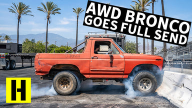 THIS Ford Bronco Won a $5000 Burnout Competition??