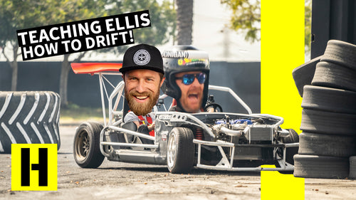 Jason Ellis Learns How to Shred in a Few Hours!! Drift School With Danger Dan
