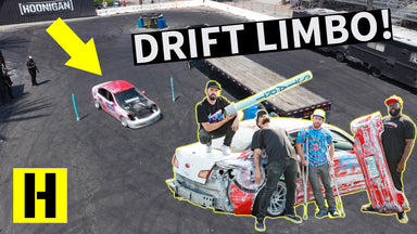 Hoonigan Drifting Limbo?? Drift Entry Contest in the Yard