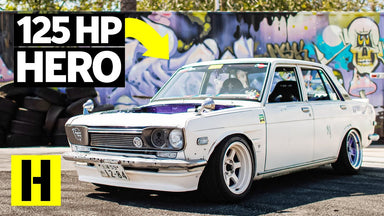 Can You Drift With 125 Horsepower? Hoodless Datsun 510 Shows You Don't Need Power to Party