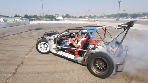 Miata Shartkart Gets Kidnapped! Forced to Shred at Hot August Nights