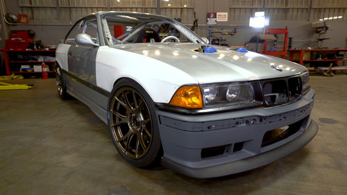 Wider Fenders and Dual Throttle Bodies for our Scrapyard M3!