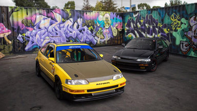 Mugen vs Spoon Honda CRX Battle #SPACERACE