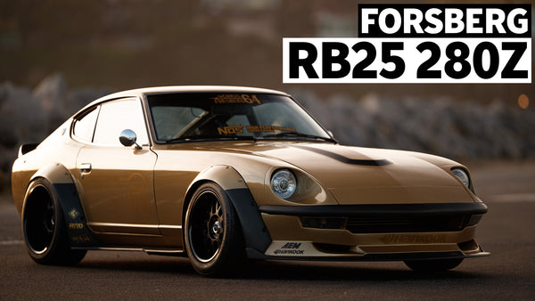 "From a $4000, Gutted, and RB Powered 280z, to ""Forever Car"": Chris Forsberg's Gold Leader Z"