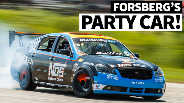 Four Bucket Seats and a 500hp V8: Chris Forsberg's Infiniti M35 Party Car