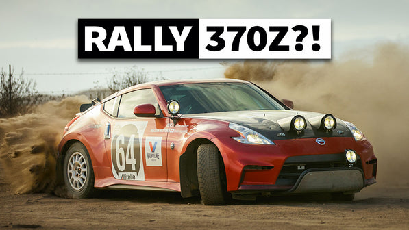 Chris Forsberg's 370z Rally Car Tribute: Sideways Gravel Shreds!