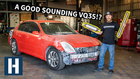 Can We Make a Nissan VQ Engine Sound Good?? Rescuing our $1500 G35 Drift Boat