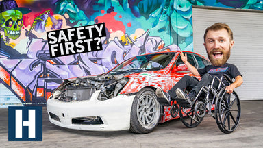 Danger Dan is Down, But Not Out! Junkyard Upgrades for our $1,500 G35 Drift Sedan