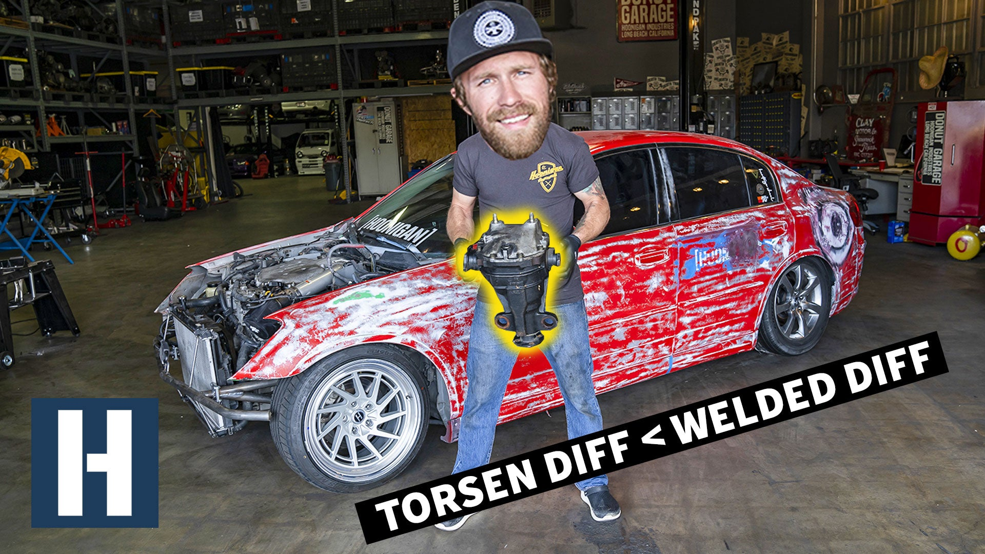 b83ebef4f How to Make a Car More Driftable! Welded Diff, Stock Handbrake Extension,  and