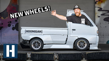 Rotary Powered Pit Truck Gets FRESH Work Wheels + Drift Car Fuel Setup!