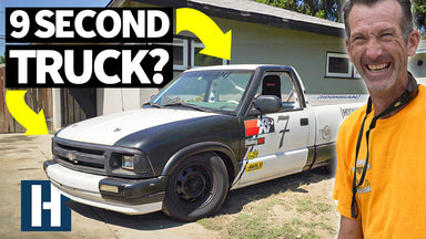 $5000 and 10 days to Make Bad Daddy Braddy's Chevy S10 Go 9 Seconds in the 1/4!