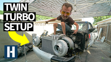 The Build & Battle Chevy S10 Goes Twin Turbo! Bad Daddy Braddy Goes as Fast as $5,000 can get him