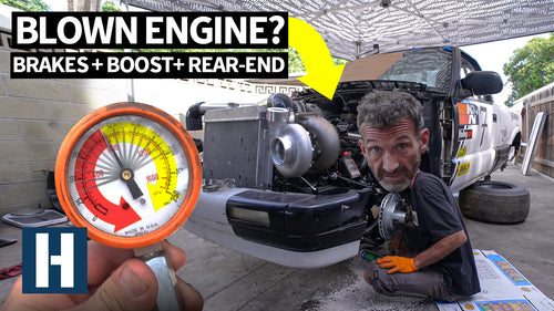 Can This Junkyard LS V8 Take Twin Turbo Power? Compression Testing the Chevy S10's Iron Block