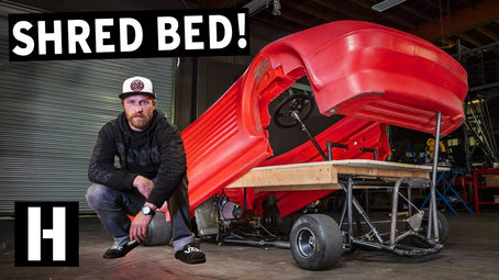 Sketchiest Bed Ever? Shred Bed aka the Siestarossa Gets Framed!
