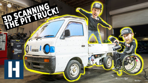 Will a Rotary Fit in our Pit Truck Project?? AND a 3D Scanning Surprise!