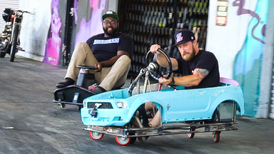 We Thrash (And CRASH) The Hacked Up Crazy Cart XXL. Plus Tandems!