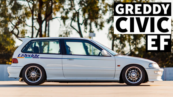 Is this the Cleanest EF Civic Ever? Greddy Kenji's Turbo Honda Dream Build