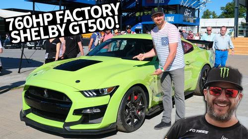 760hp Shelby GT500, Most Powerful Factory Ford EVER at Goodwood With Vaughn Gittin Jr.