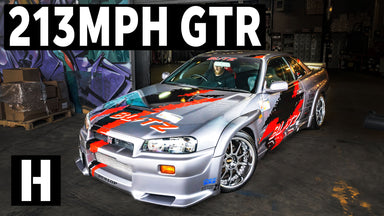 213mph Blitz R34 Skyline GTR: The Infamous Autobahn Legend!