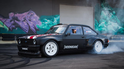 Ken Block's 9000rpm Escort MK2 Gymkhana Car