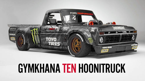 Ken Block's Gymkhana TEN F-150 Hoonitruck, presented by Toyo Tires