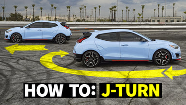 How to do J-Turns in a Front Wheel Drive Car! FWD Hoon School, pt.1