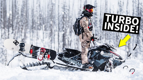 Even my Ski-Doo has a Turbo! Mountain Slaying Machine Walkthrough