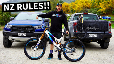 Ken Block Drives the NEW Ford Ranger Raptor, New Zealand Downhill MTB Adventures + Mad Mike Visit!