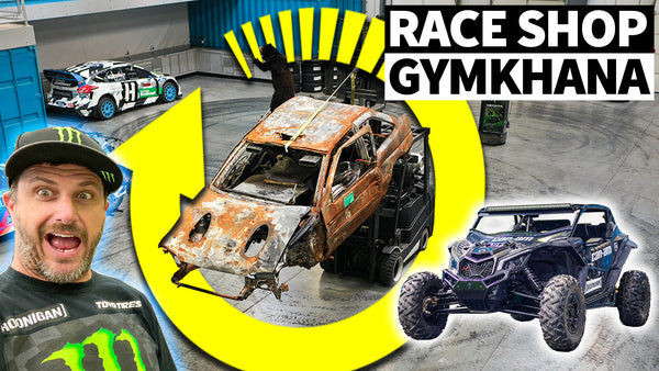 Gymkhana Grid: Stay At Home Edition + Travis Pastrana CALLOUT!