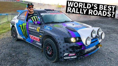 The World's Greatest Rally Roads? Ken Block Races in New Zealand