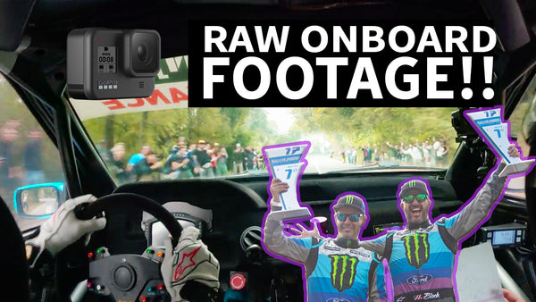 Rally Antilag = WILD GoPro Footage!! Ken Block at RallyLegend in His Ford Cossie V2