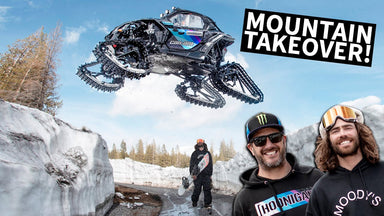 Ken Block Shreds A Mountain in his Can-Am on Tracks With Danny Davis!