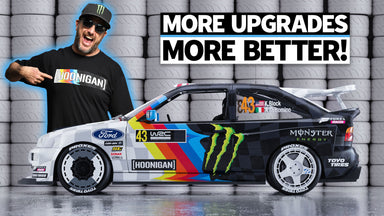 Ken Block's Wild Ford Escort Cossie V2 Gets Upgraded + RAW Footage From Testing!