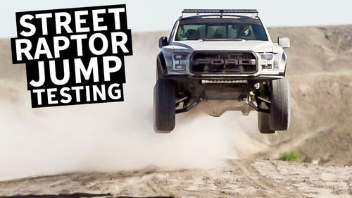 Ken Block's Ford Raptor Gets Dialed in for Jumps!