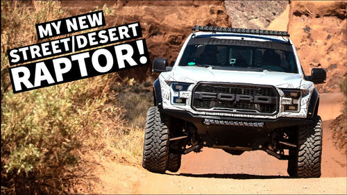 Ken Block Tests his NEW Fully Built Ford Raptor in Moab!
