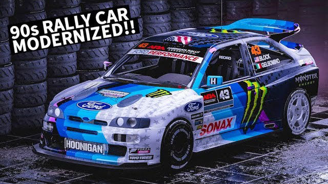 Render To Reality Ken Blocks All New WILD Ford Escort Rally Car